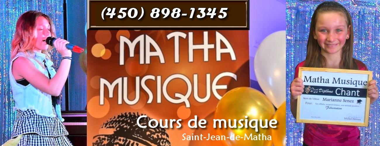 Cours de chant près de Joliette à Saint-Jean-de-Matha.